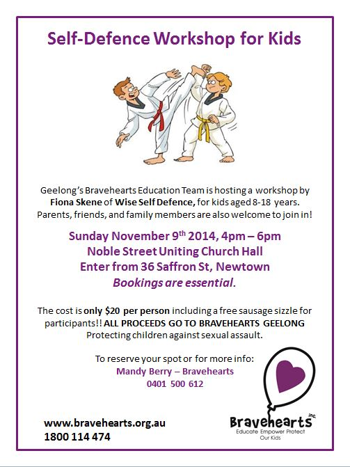 Bravehearts protection workshop